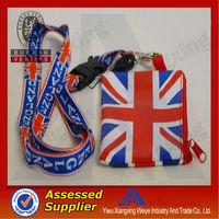 Fashion belt 120 cm cute country flag lanyard as gift under 1 dollar
