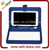 2015 For 7 inch tablet PC MID hand hold case PU Leather hand hold case