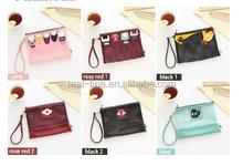 Travel Nylon Mesh Zipper Wallet Case Cosmetic Makeup Bag Portable Storage Pouch Make Up Tool Organizer