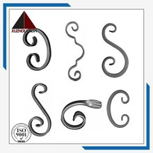 Decorative Wrought iron component scrolls