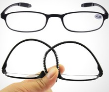 2015 injection Reading Glasses, with flexible arms FDA and CE approved