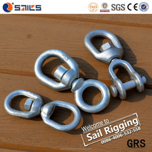 Galvanized Carbon Steel Drop Forged Link Chain Swivel