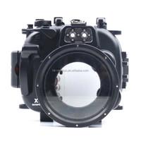 Professional Meikon 40M/130ft waterproof camera housing for Fujifilm X-T1 18-55mm