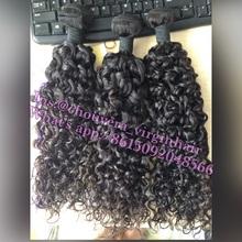 China hair factory lmore than10000pcs in stock brazilian deep curl hair weaving