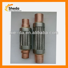 copper connector 1/2vibration-absorbing flexible hose in circulating pipeline