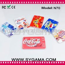 2011 New arrival Name Card MP3 with Li-on Battery