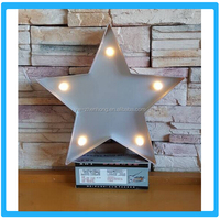 2015 Beautiful New Design LED Star Lamp For Decoration