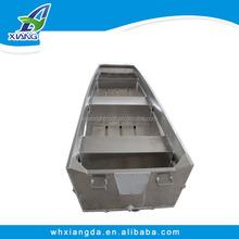 2015 China CE Certificate High Quality Cheap Flat Bottom Aluminum Jon Boat Brands