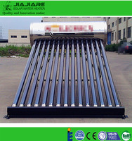 Hot sale 200 l stainless steel non pressurized solar hot water heater system