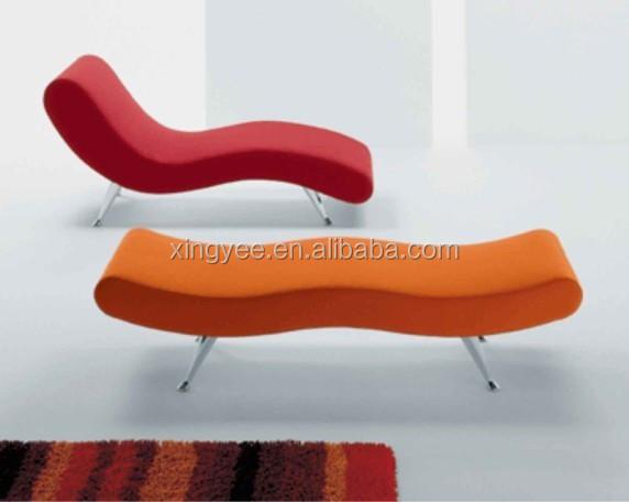 Moderne salon salon meubles chambre banc en cuir v ritable for Chaise de salon en cuir