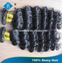 Natural 100% Human Hair Deep Wave shenzhen hair