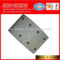 Oem manufactuer, partes de automóviles, material de fricción de freno semimetal 2308-354620 forro
