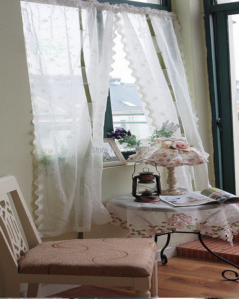 Alta qualidade terminou transparente pura cortina branco for Cortinas de castorama pura