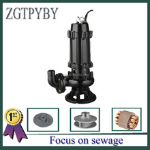 JYWQ easy to install automatic stir submersible sewage water pump