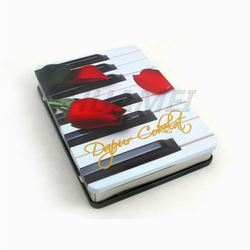 China fashion printed 3 pieces cd tin case