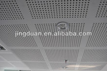 Gypsum perforated ceiling board,wall board applited to school,hospital,office