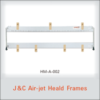 Toyota &Tsudakoma J&C air jet heald frames for weaving looms & textile machine R/S 190 140*140 331J