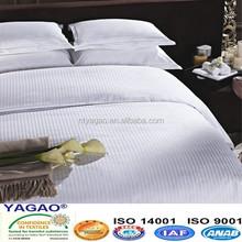 4 and 5 star hotel use 1cm stripe cotton bedding set