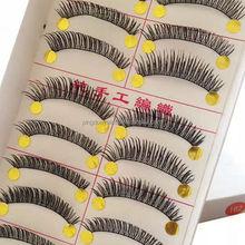 hand made 10pairs fake eyelashes