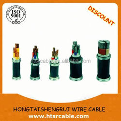 electrical wire PVC insulation,power cable 5 core power cable