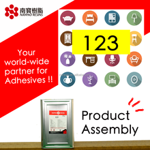 NANPAO Yellow Transparent solvent based CR Glue For Product Product assembly