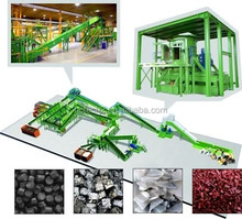 Integrated MSW sorting/RDF/Municipal waste sorting/Material Recovery Facility(MRF)/Recycling sorting line