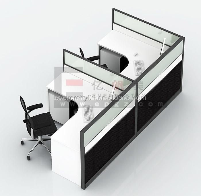 Pas cher modulaire meubles armoire de bureau poste de travail pour 10 personn - Bureau de travail pas cher ...
