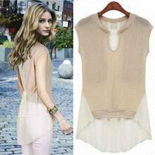 Las mujeres blusa de encaje de verano 2013 nueva llegada de estilo europeo plus casual blusa de tamaño/s/m/l/xl/dos color