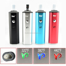Dry herb rex vaporizer kit with large battery and large tobacco load weight