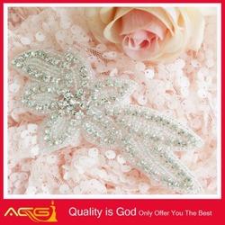 AB Stone Crystal Rhinestone Applique Silver Settings beautiful classic vintage wholesale ab stone crowns