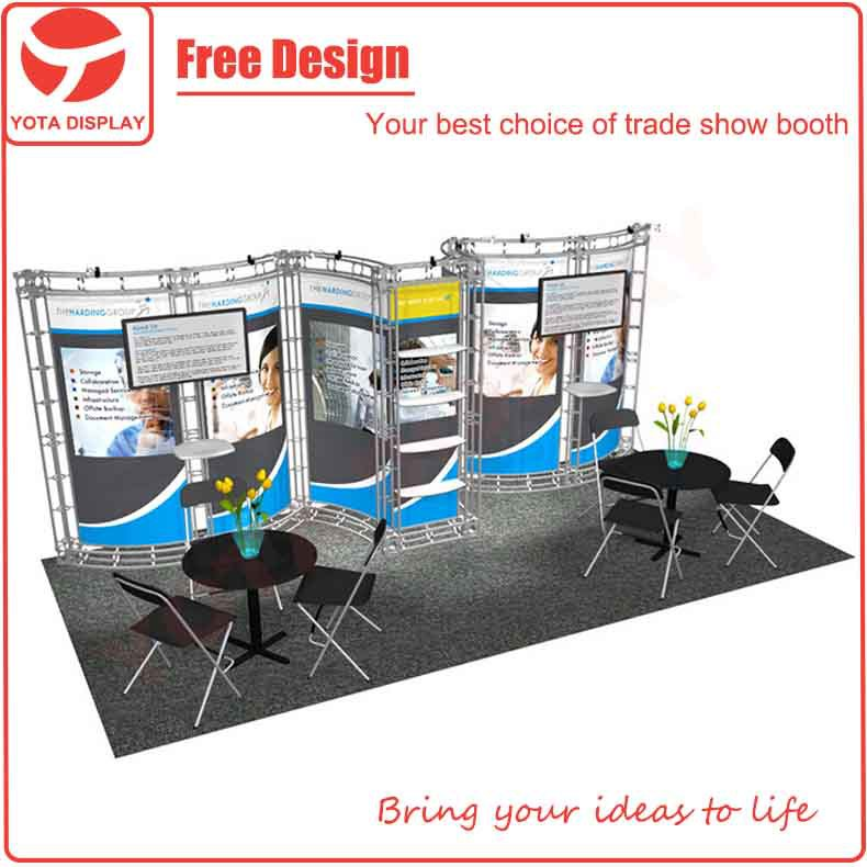 Portable Exhibition Quotes : Portable trade show booth zombie pic