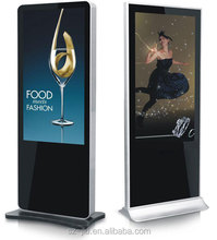 Cheapest OEM /ODM wall mounted android touch screen monitor pc advertising lcd panel for sale
