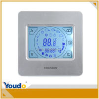2014 Top Sale High Sensitivity Thermostat Programmable Thermostat Touch Screen, hvac controller programmable