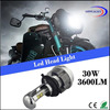 High power motorcycle headlight with long life-span
