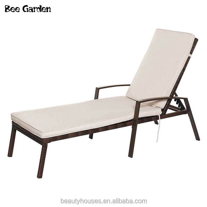 Ocio Jardín Outback Furniture Rattan Sunbed Cama al aire libre