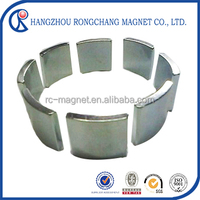 arc stong neodymium for motor sintered ndfeb magnets