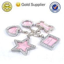 wholesale promotional cheap custom blank metal Pet ID dog tag for dog