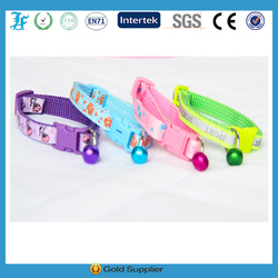 Puppy dog Collar Personalize design Nylon with ring