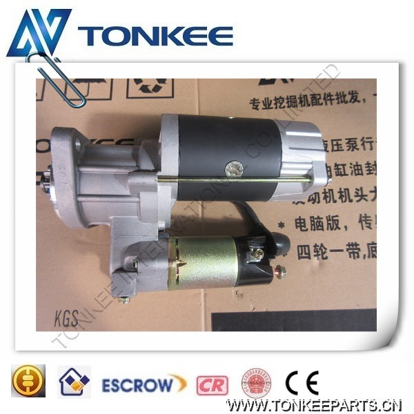 Mitsubishi S4kt Starting Motor For Hydraulic Excavator