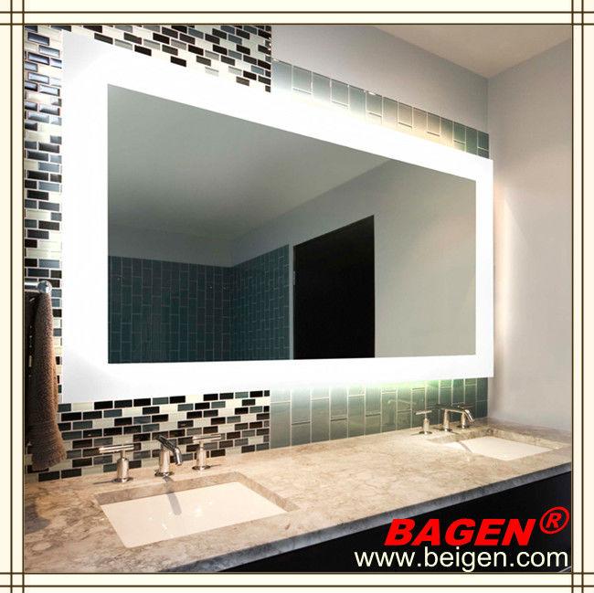 Moderno cuarto de ba o espejo luz pared decorativos - Espejos de banos modernos ...