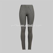 super calidad más barato vendaje vestido de pantalones ajustados de grasa de la mujer pantalones