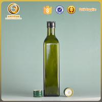 Wholeslae 500ml standard cooking oil glass bottle size