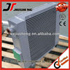 Vacuum Cooler Plate And Fin Heat Exchanger Transmission Oil Cooler With Fan