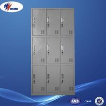Popular Modern Changing Room Storage Cabinet Metal or Iron Closet Locker Furniture Bedroom Steel Wardrobes