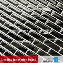 China melhor qualidade eco decoração da parede rolo da telha / 3d mosaico e telha de assoalho