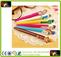 Kawaii Cartoon Plastic Ballpoint Pens Cute Lovely Cat Bird Ball Pen School Supplies Korean Stationeryovelty ballpen