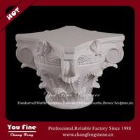 Hand Carved Garden Decorative Stone Roman Column Cover