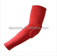 Sport Basketball Collision Armband Cobweb Crash Arm Support Sleeve