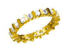 eternity diamond wedding band 3d jewelry cad