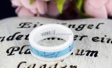 fashion mens ceramic wedding jewellery wholesale,white ceramic ring handicraft,new personality stainless steel jewelry designs